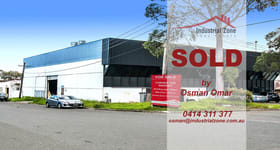 Factory, Warehouse & Industrial commercial property sold at 1-3 Harris  Street Condell Park NSW 2200