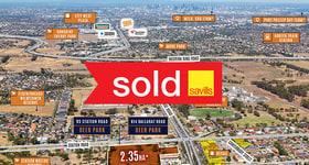 Development / Land commercial property sold at 814 Ballarat Road & 95 Station Road Deer Park VIC 3023