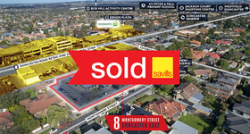Development / Land commercial property sold at 8 Montgomery Street Doncaster East VIC 3109