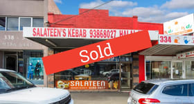 Shop & Retail commercial property sold at 336 Sydney Road Coburg VIC 3058