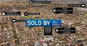 Development / Land commercial property sold at 1331-1337 High Street Malvern VIC 3144