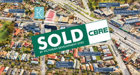 Development / Land commercial property sold at 38-40 Keilor Road Essendon North VIC 3041