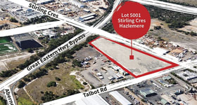 Industrial / Warehouse commercial property for sale at Lot 5001 Talbot Road Hazelmere WA 6055