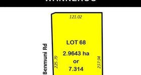 Development / Land commercial property sold at 7 (Lot 68) Nicholas Road Wanneroo WA 6065