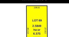 Development / Land commercial property sold at 19 (Lot 69) Nicholas Road Wanneroo WA 6065