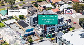 Offices commercial property sold at 1/112-114 Pier Street Altona VIC 3018