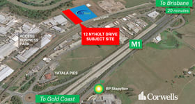 Development / Land commercial property sold at 12 Nyholt Drive Yatala QLD 4207