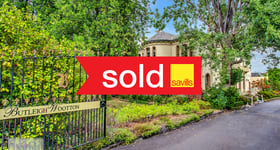 Development / Land commercial property sold at 867 Glenferrie Road Kew VIC 3101