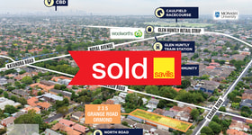 Development / Land commercial property sold at 235 Grange Road Ormond VIC 3204