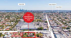 Development / Land commercial property sold at 6-8 Basinghall Street East Victoria Park WA 6101