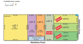Development / Land commercial property for sale at Lot 2, 35 Waddikee Road Lonsdale SA 5160