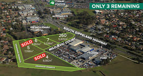 Development / Land commercial property for sale at 260 South Gippsland Highway Cranbourne VIC 3977