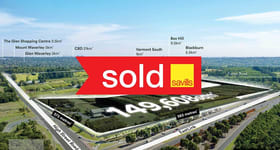 Development / Land commercial property sold at 1201-1211 High Street Road Wantirna South VIC 3152