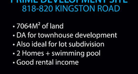 Development / Land commercial property for sale at 818-820 Kingston Road Loganlea QLD 4131