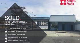 Development / Land commercial property sold at Whole Property/56-68 Tudor Street Hamilton NSW 2303