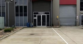 Factory, Warehouse & Industrial commercial property sold at Unit 20/87-91 Hallam South Road Hallam VIC 3803