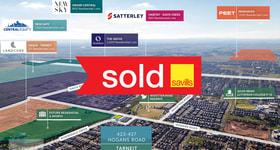 Development / Land commercial property sold at 423-427 Hogans Road Tarneit VIC 3029
