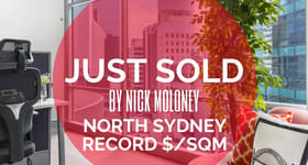 Medical / Consulting commercial property sold at 802/71 Walker Street North Sydney NSW 2060