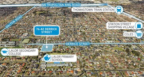 Development / Land commercial property sold at 76-82 Derrick Street Lalor VIC 3075