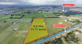 Development / Land commercial property for sale at Front Parcel of 1630 Mickleham Road Mickleham VIC 3064