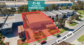 Industrial / Warehouse commercial property sold at 41-45 Williams Road Dandenong South VIC 3175