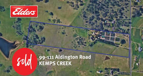 Rural / Farming commercial property for sale at 99-111 Aldington Road Kemps Creek NSW 2178