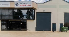 Factory, Warehouse & Industrial commercial property sold at 14/70 Holbeche Road Arndell Park NSW 2148