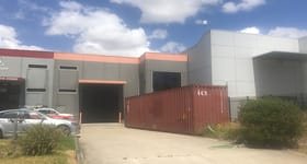 Factory, Warehouse & Industrial commercial property sold at 37 Cyber Loop Dandenong VIC 3175