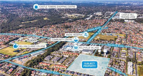 Development / Land commercial property for sale at Lot 12 York Road Kellyville NSW 2155