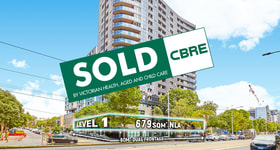 Medical / Consulting commercial property sold at 33 Flemington Road (Level 1) North Melbourne VIC 3051