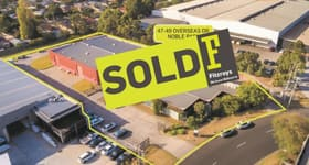 Factory, Warehouse & Industrial commercial property sold at 47-49 Overseas Drive Noble Park VIC 3174