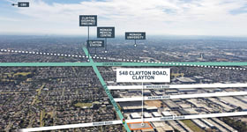 Development / Land commercial property sold at 548 Clayton Road Clayton VIC 3168