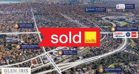 Development / Land commercial property sold at 1755 Malvern Road Glen Iris VIC 3146