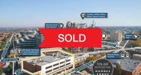 Development / Land commercial property sold at 579-591 Mt Alexander Road Moonee Ponds VIC 3039