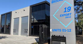 Industrial / Warehouse commercial property for sale at Unit 12/19-21 Export Dr Brooklyn VIC 3012