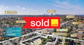 Development / Land commercial property sold at 1 Cooloongatta Road Camberwell VIC 3124