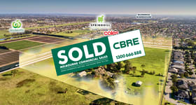 Development / Land commercial property sold at 1435 Thompsons Road Cranbourne North VIC 3977