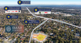 Development / Land commercial property for sale at 27A, 31 & 33 Boronia Road Vermont VIC 3133