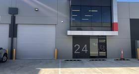 Factory, Warehouse & Industrial commercial property sold at 24/72 Logistics Street Keilor Park VIC 3042