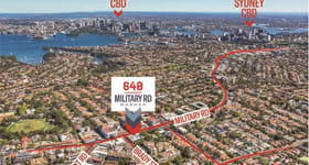 Shop & Retail commercial property sold at 640 Military Road Mosman NSW 2088