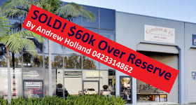 Factory, Warehouse & Industrial commercial property sold at 13/3 Vuko Place Warriewood NSW 2102
