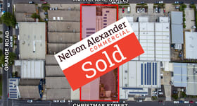 Factory, Warehouse & Industrial commercial property sold at 184 Christmas Street Fairfield VIC 3078