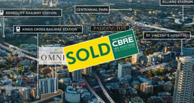 Retail commercial property sold at 226 Victoria Street Potts Point NSW 2011