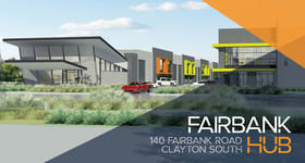 Factory, Warehouse & Industrial commercial property for lease at 16 (Wareho/140 Fairbank Road Clayton South VIC 3169