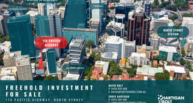 Offices commercial property for sale at 110 Pacific Highway North Sydney NSW 2060