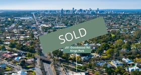 Development / Land commercial property sold at 251 Goodwood Road Kings Park SA 5034