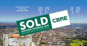 Offices commercial property sold at 345, 347 & 347a Riversdale Road (Corner of Symonds Street) Hawthorn East VIC 3123