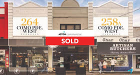 Shop & Retail commercial property sold at 258A & 264 Como Parade West Parkdale VIC 3195
