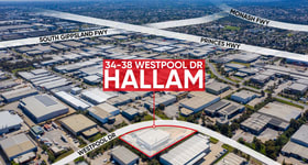 Factory, Warehouse & Industrial commercial property for lease at 34 - 38 Westpool Drive Hallam VIC 3803