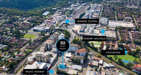 Development / Land commercial property sold at 188 Pacific Highway Hornsby/188 Pacific Highway Hornsby NSW 2077